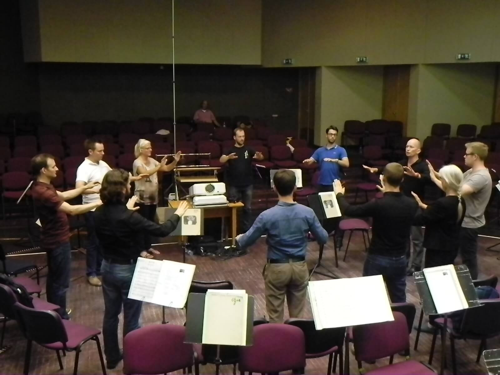 Masterclass with Liepaja Symphony Orchestra August 2015