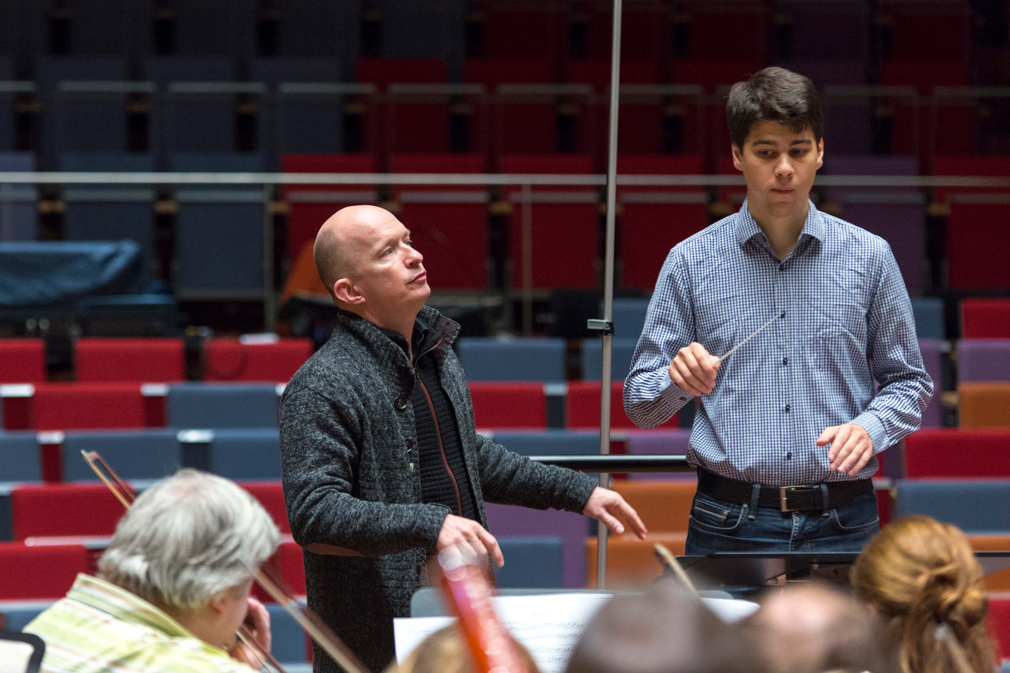 Masterclass with Liepaja Symphony Orchestra January 2016