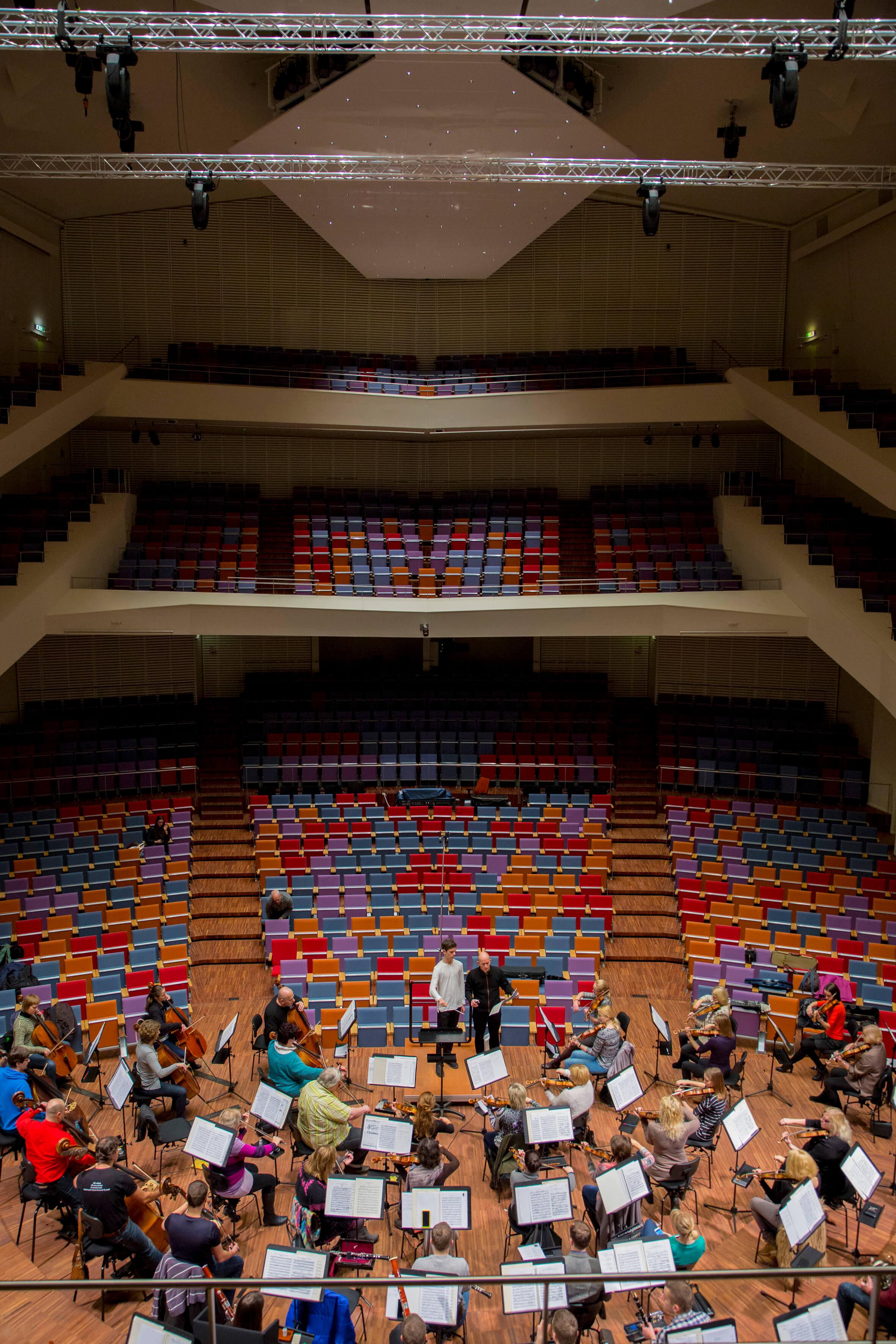 Masterclass with Liepaja Symphony Orchestra January 2016