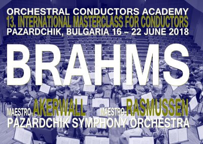 Masterclass 16 – 22 June 2018 Bulgaria