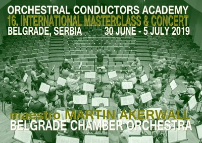 Masterclass 30 June – 5 July